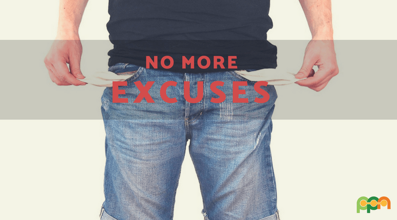 Stop Making These 5 Excuses That Are Keeping You Broke